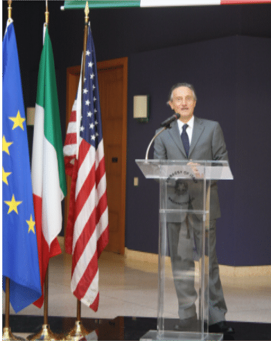 Ambassador Bisogniero