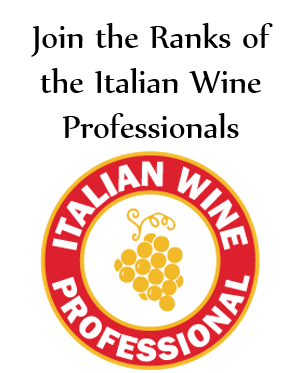 Get certified as an Italian Wine Professional