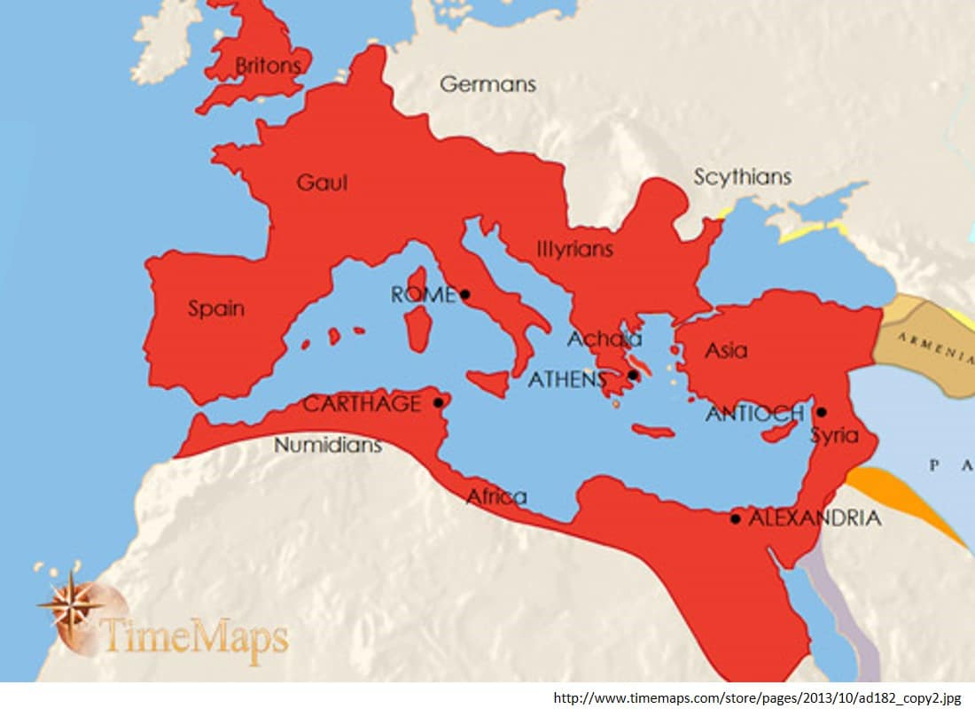 the influence of roman empire to cultures around the world Essay on greek influence on the roman empire  in the roman empire there were around thirty-five to  roman influence cory martin world civilization.
