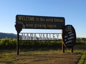 Napa Valley sign
