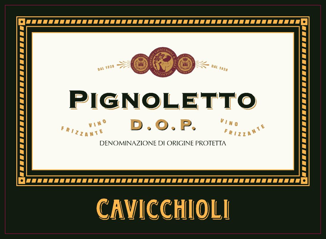 Pignoletto label