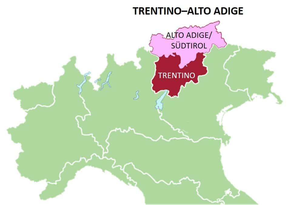 TrentinoAlto Adige Italian Wine Central